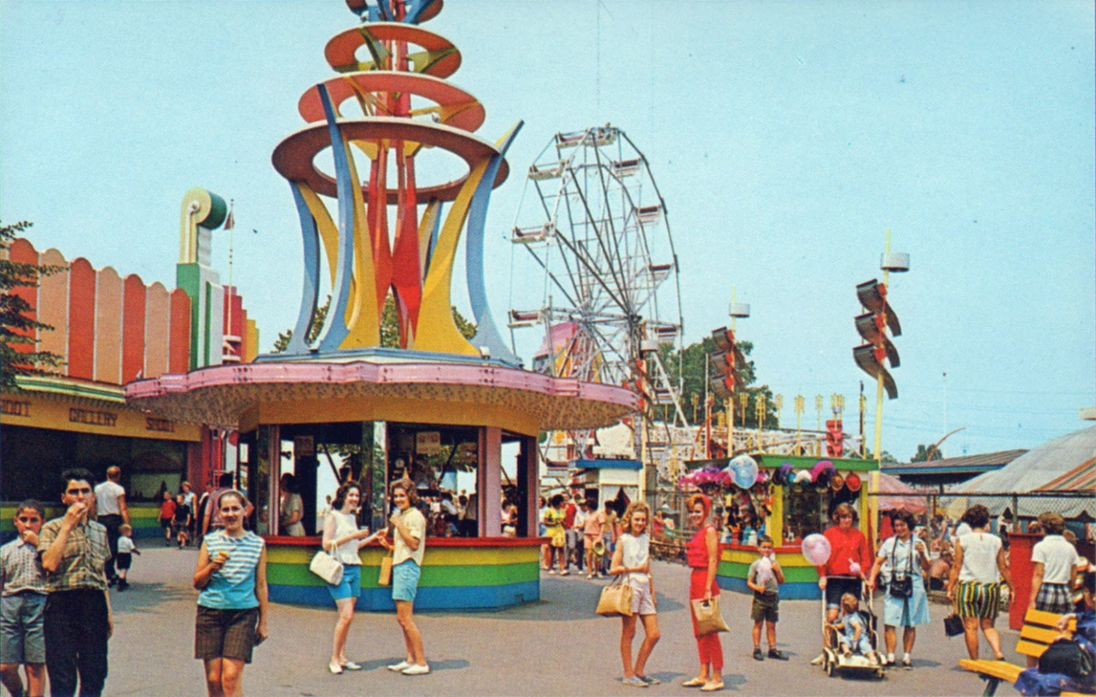 New Jersey Amusement Park On The Beach
