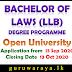 Bachelor of Laws Degree Programme (LLB) : Open University