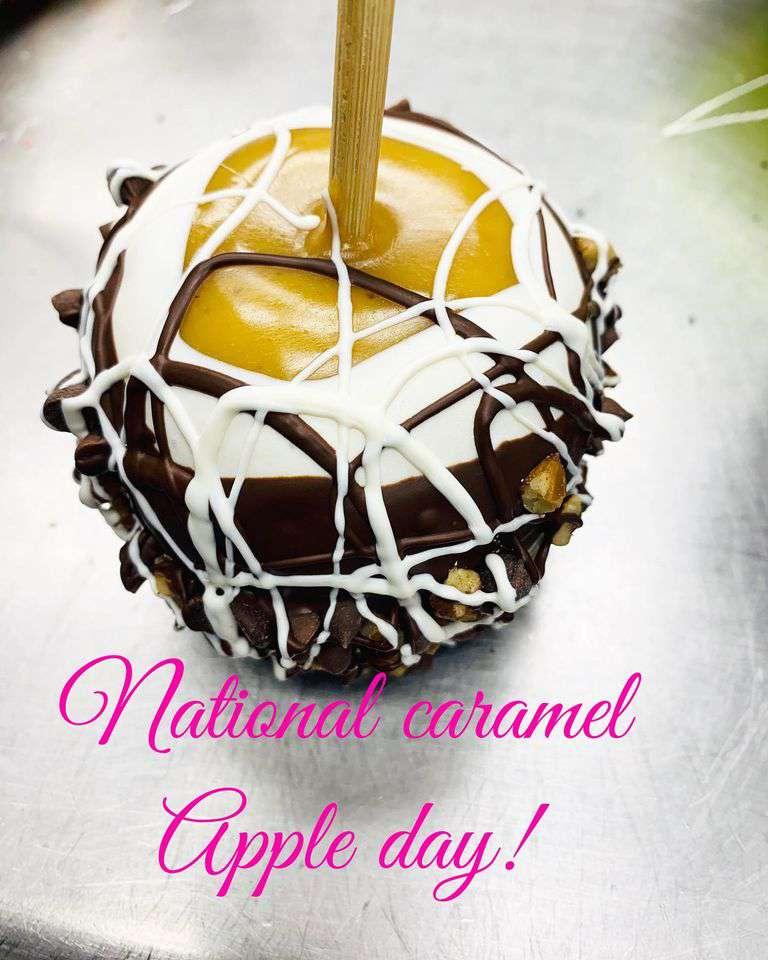 National Caramel Apple Day Wishes Lovely Pics