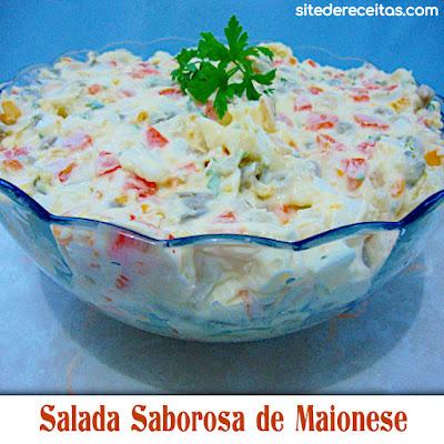 Salada Saborosa de Maionese