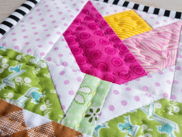Quilted Coaster Thingies