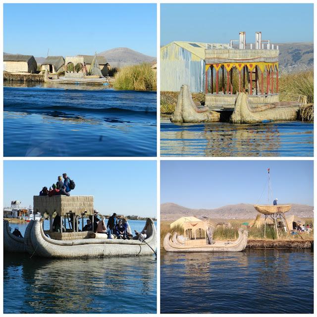Roteiro 12 dias no Peru - Ilhas Flutuantes Uros, Lago Titicaca