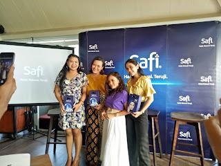 pemenang best post dan kostum safi age defy