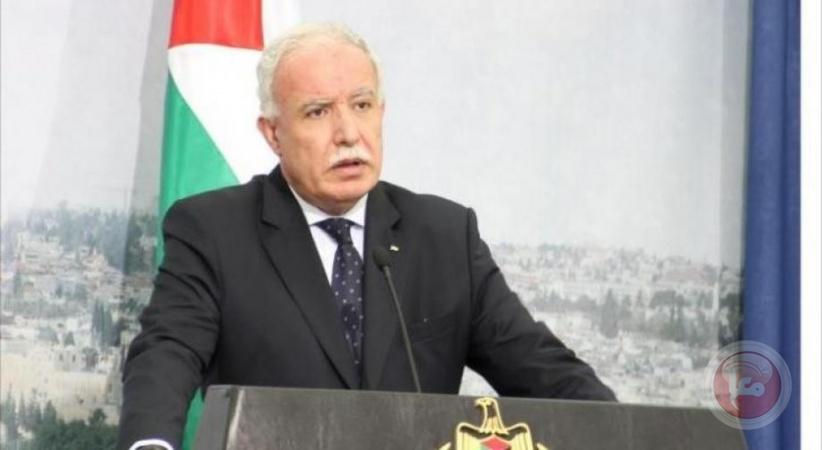 المالكي يدعو الى تشكيل جبهة دولية لمحاربة جرائم الاحتلال بحق شعبنا