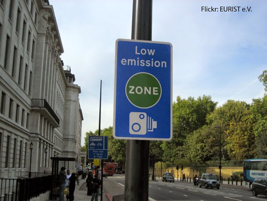Ultra Low Emission Zone London Advertising TfL