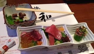 Antipasto di manzo di Kobe