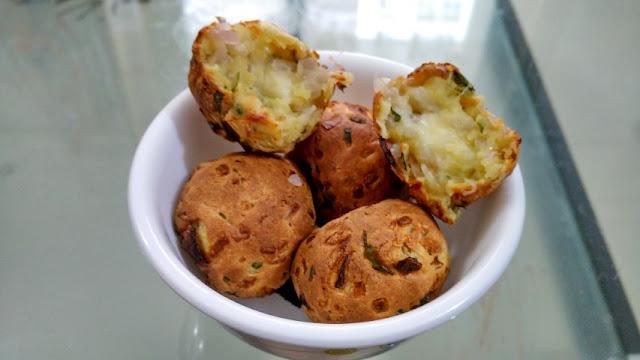 airfryer Cheese Paneer Balls
