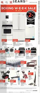 Sears Flyer June 29 – July 12, 2017