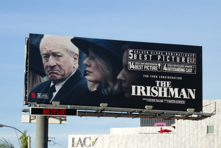 Irishman winter awards nominee billboard