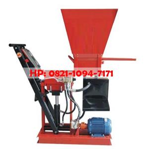 Mesin Press Bata Merah Interlock (Tanpa Bakar) Keluar 1)