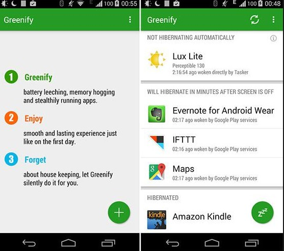 Download Aplikasi Android Greenify Pro Donation v4.7 Apk Full Version