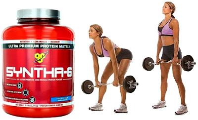 Batido proteínas mujeres masa muscular