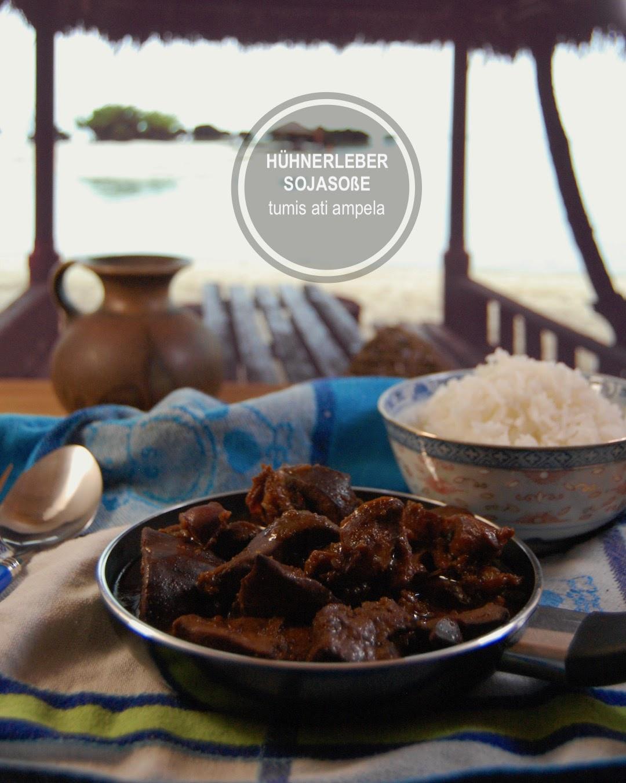 Rezept Hühnerleber balinesisch mit Sojasoße