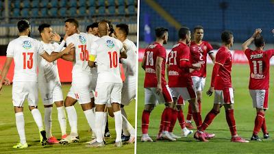 تشكيل الأهلي ضد الزمالك في الدوري المصري