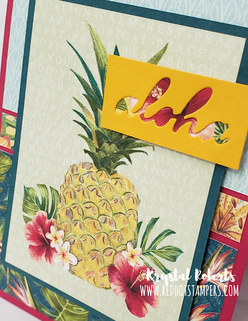 Tropical Oasis | Red Hot Stampers