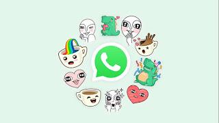Cara Menyimpan Stiker Whatsapp yang dikirim Teman