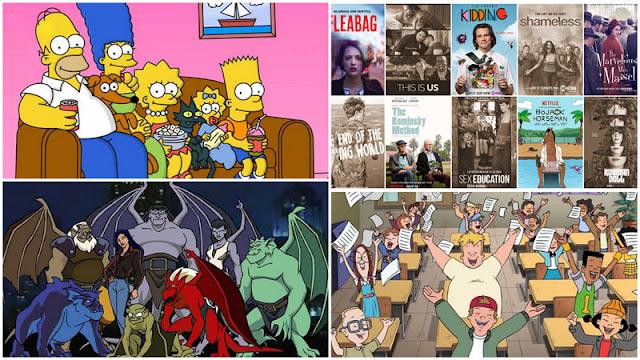 Especiales series animación Disney + y series dramáticas para la cuarentena