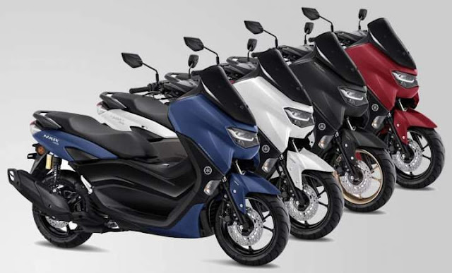 Pilihan Warna All New Nmax155 Tahun 2020 Standard Version