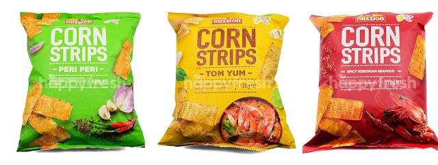 Nikmati Snek Mission Corn Strips Terbaru Dengan Rasa Enak