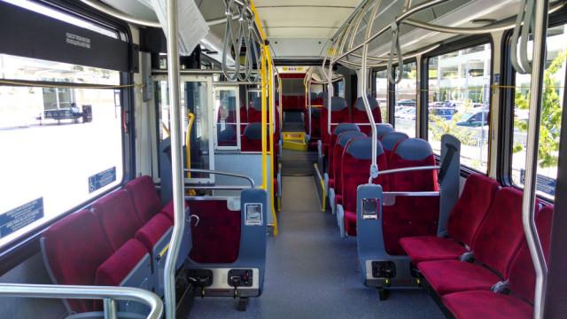 Ônibus em San Diego na Califórnia