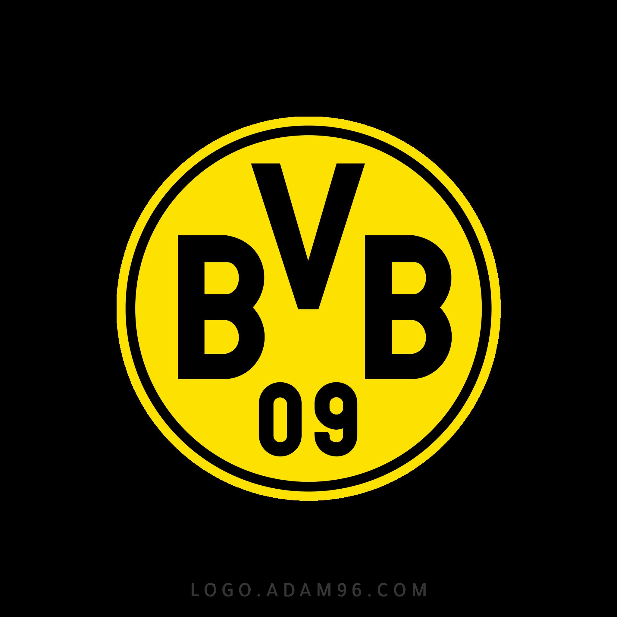 تحميل شعار نادي بوروسيا دورتموند لوجو شفاف Logo Borussia Dortmund PNG