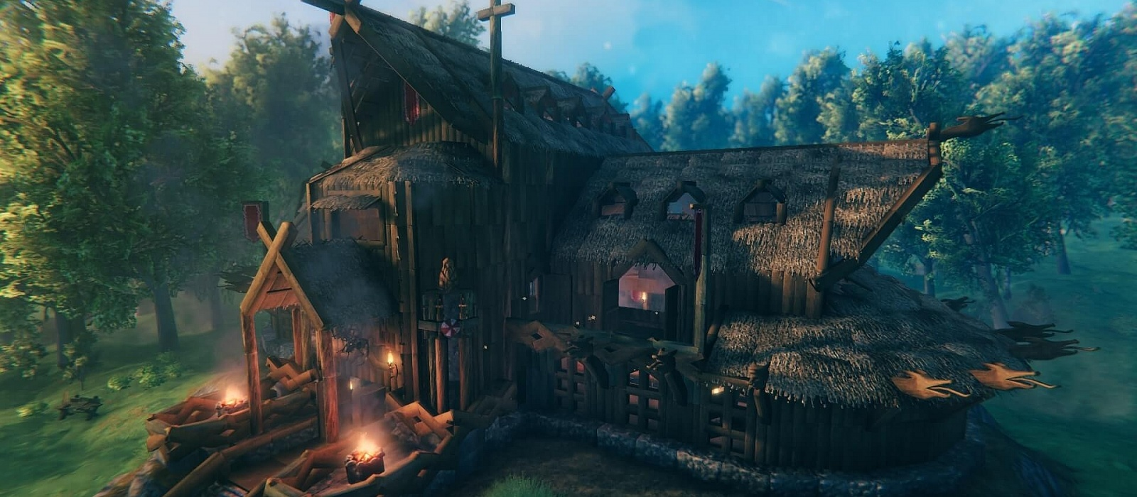 How to repair buildings in Valheim. How to understand that a house is breaking down and rotting