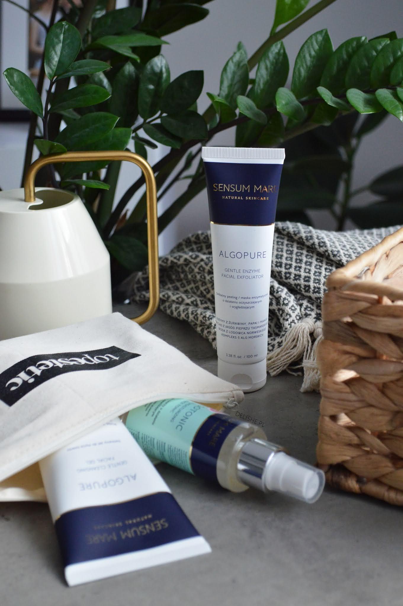 Sensum Mare kosmetyki z wodą z lodowca czy warto kupić topestetic