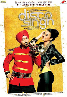 Poster Disco Singh 2014 Hindi HD 720p