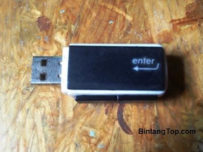 Cara Membuat Casing USB FlashDisk Bermotif KeyBoard