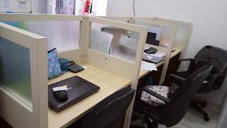 Meja Sekat Kantor & Meja Resepsionis  - Furniture Kantor Semarang