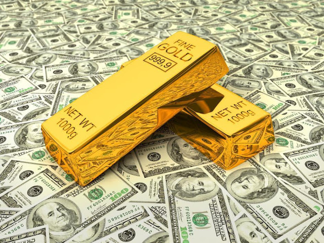 Gold bars serve as investor hedge against uncertain economies