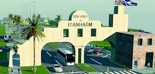 Portal da cidade de Itanhaém