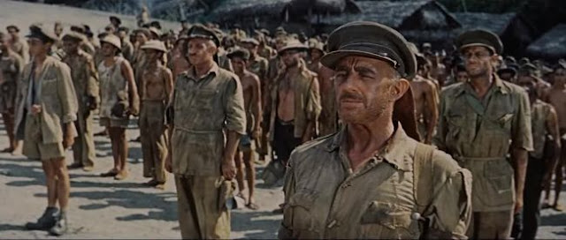 Allied prisoners in The Bridge on the River Kwai