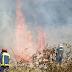 Πυρκαγιά κοντά στο ΚΥ Καλαμπάκας