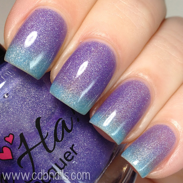 Ah-Ha Nail Lacquer-Crushed Berries