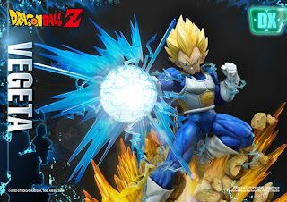 Super Saiyan Vegeta Statue 1/4 de Dragon Ball Z - Prime 1 Studio y MegaHouse.