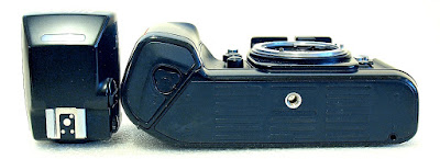 Nikon F4 with MB-20 grip (4xAA cells) #299 04