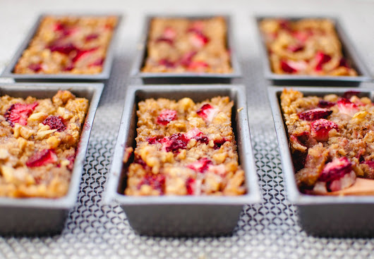 Minty Anne: Strawberry Baked Oatmeal