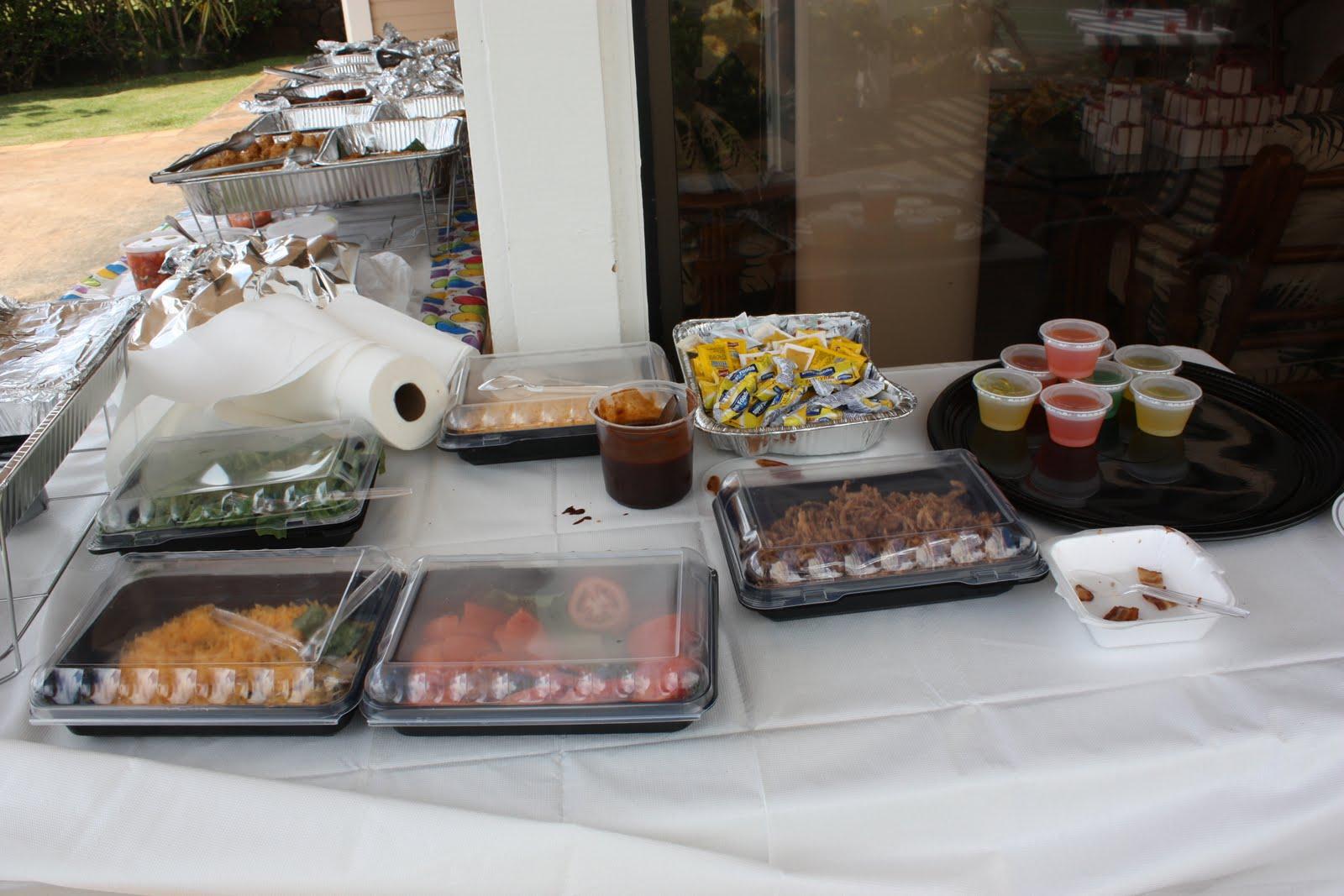 TASTE OF HAWAII: KAHAI STREET KITCHEN - CATERING BIRTHDAY PARTY