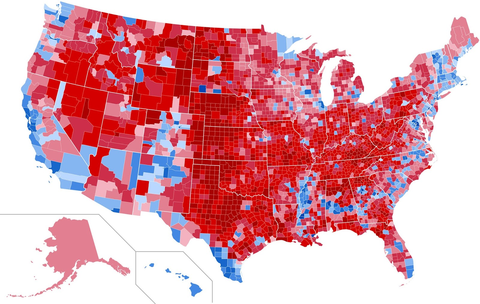 the new england states went 100 for hillary clinton as did new york delaware and maryland virgina thanks to the huge populations centered around d c