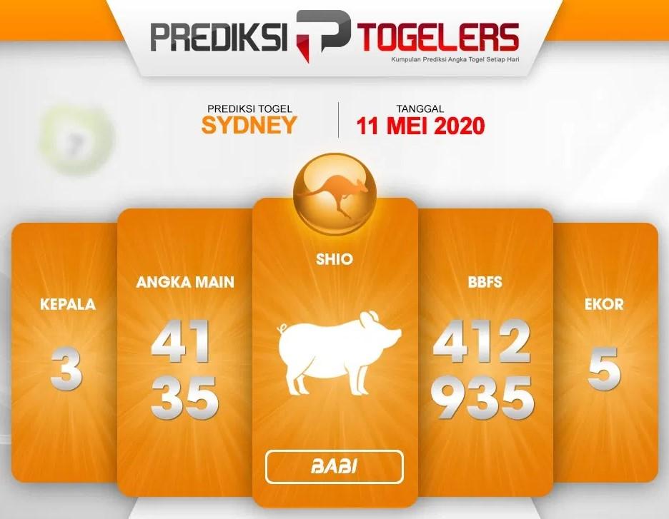 Prediksi Togel Sidney Minggu 11 Mei 2020 - Prediksi Togelers