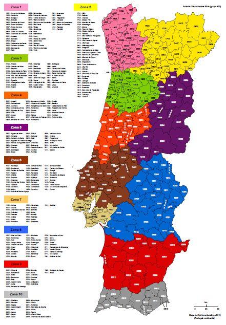 mapa portugal pdf
