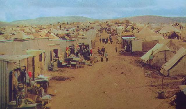 Foto Kamp pengungsi Palestina