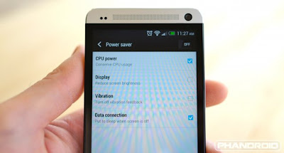 Cara Menghemat Baterai HTC One