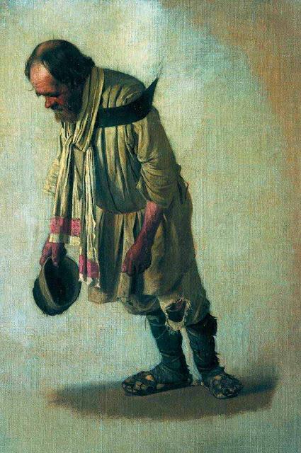 Василий Васильевич Верещагин - Бурлак с шапкою в руке. 1866