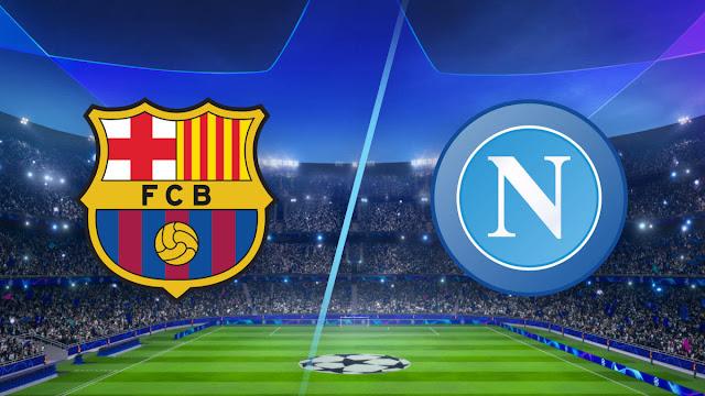 موعد مباراة برشلونة ونابولي بث مباشر بتاريخ 08-08-2020 دوري أبطال أوروبا