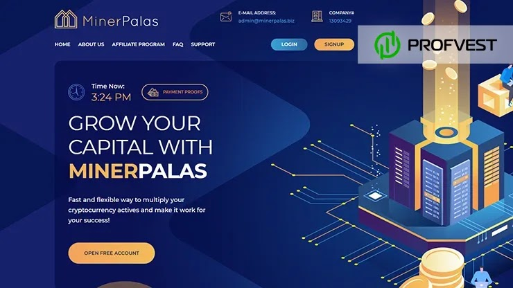 MinerPalas обзор и отзывы HYIP-проекта