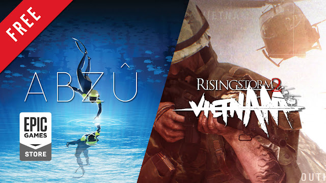 abzu rising storm 2 vietnam free pc game epic games store exploration adventure simulation giant squid studios 505 games tactical first-person shooter antimatter games tripwire interactive iceberg interactive