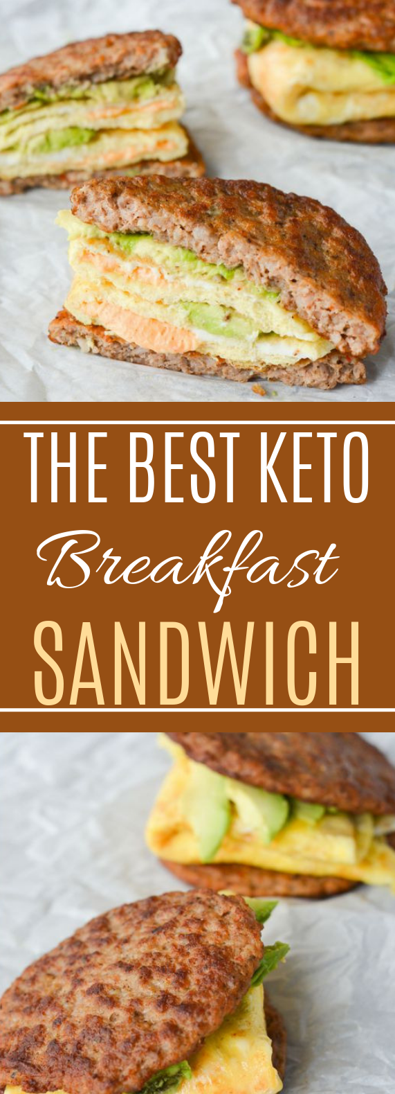 My Favorite Keto Breakfast Sandwich #healthy #lowcarb