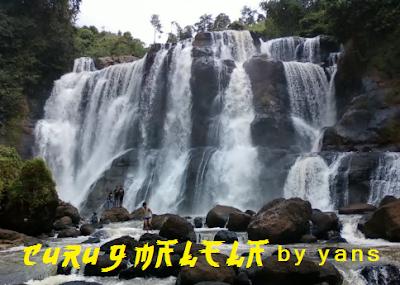 Tempat Wisata Alam Di Bandung Curug Malela